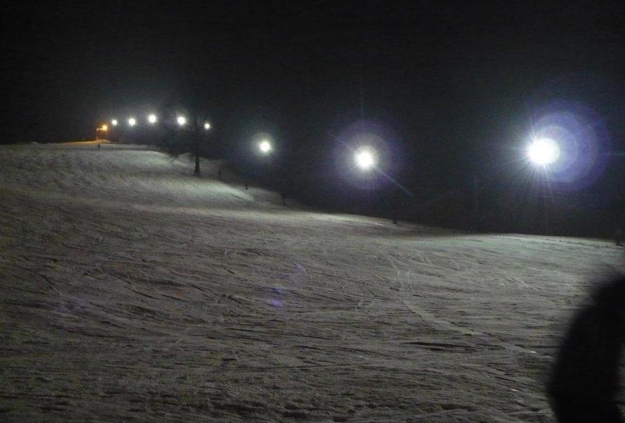 večerní lyžování v Tachově